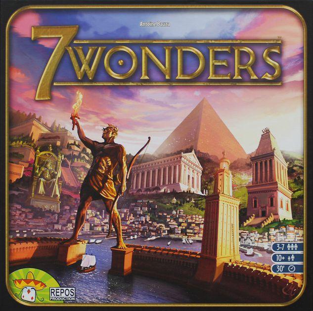 7 wonders un juego para toda la familia