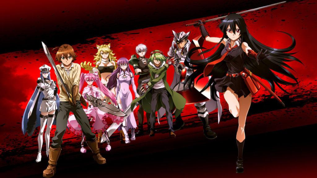 Akame Ga Kill! (2014) mejores animes manga