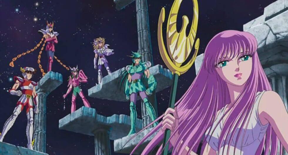 Saint Seiya (1985) mejores animes