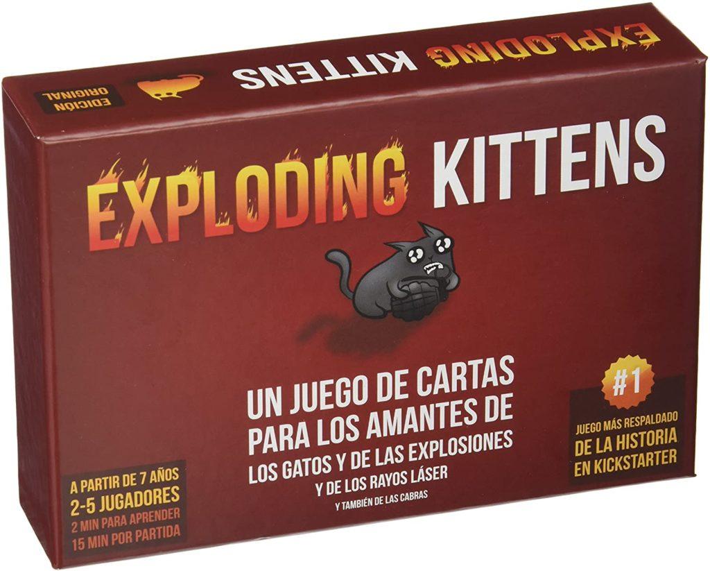 exploding kittens juego de mesa