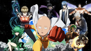 one punch man personajes anime
