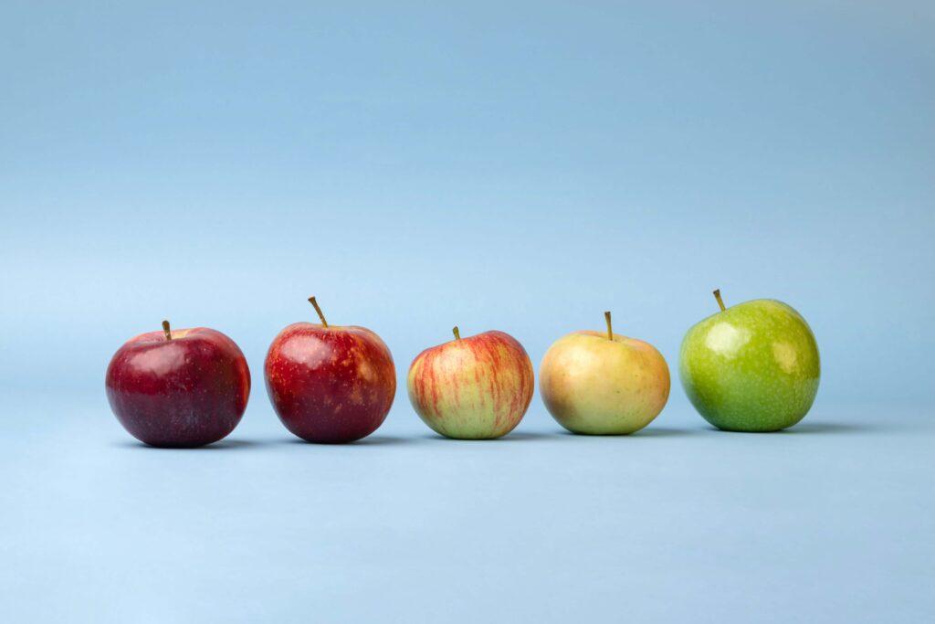 4 manzanas