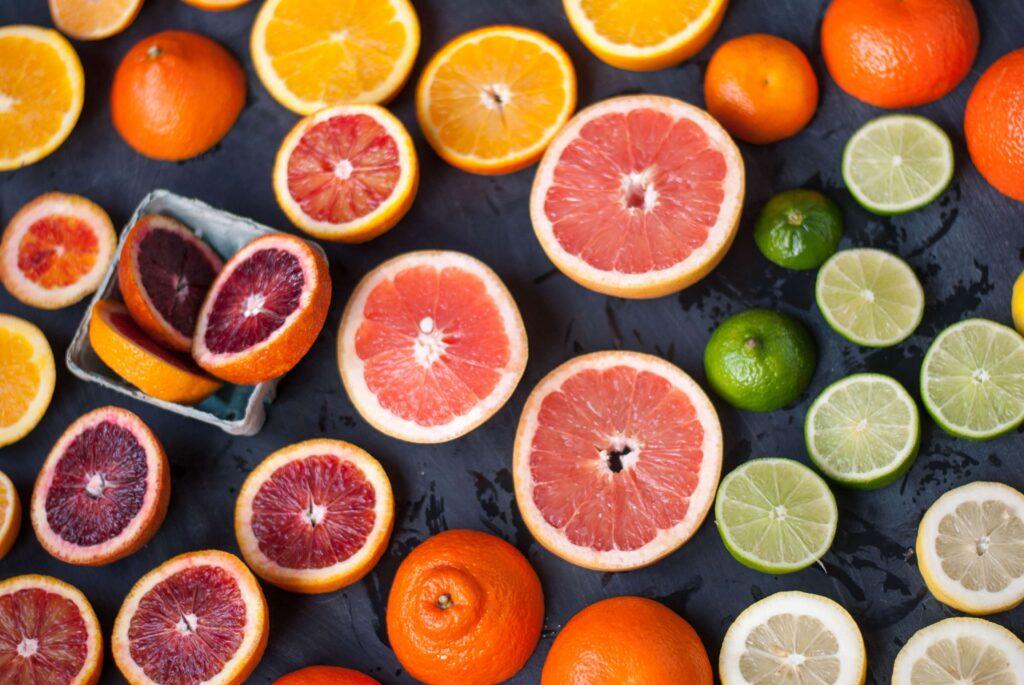 coleccion de frutas