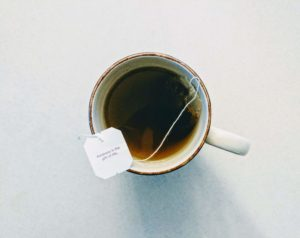 taza de te negro