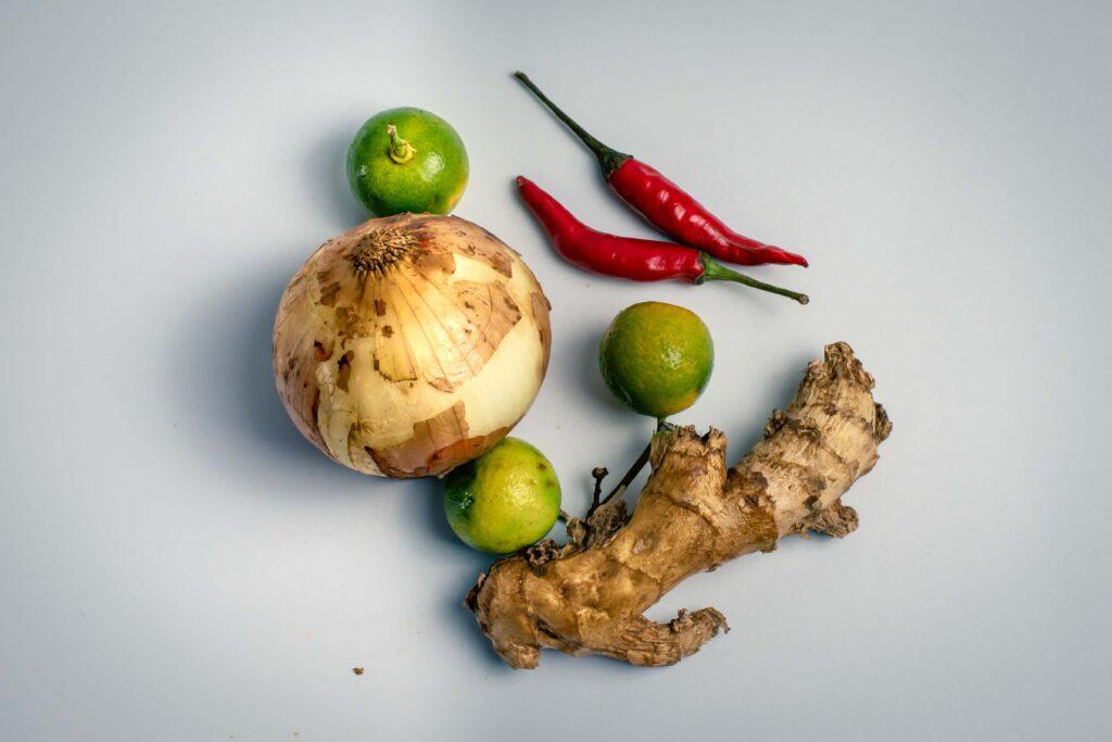 gengibre y zanahoria