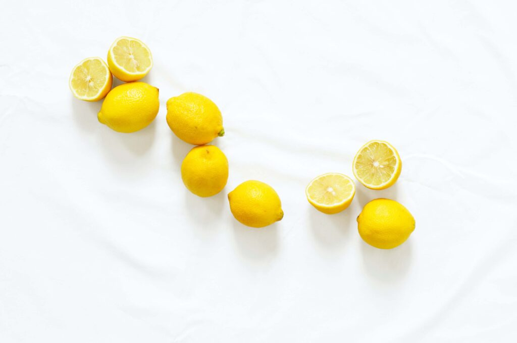 limones mojados
