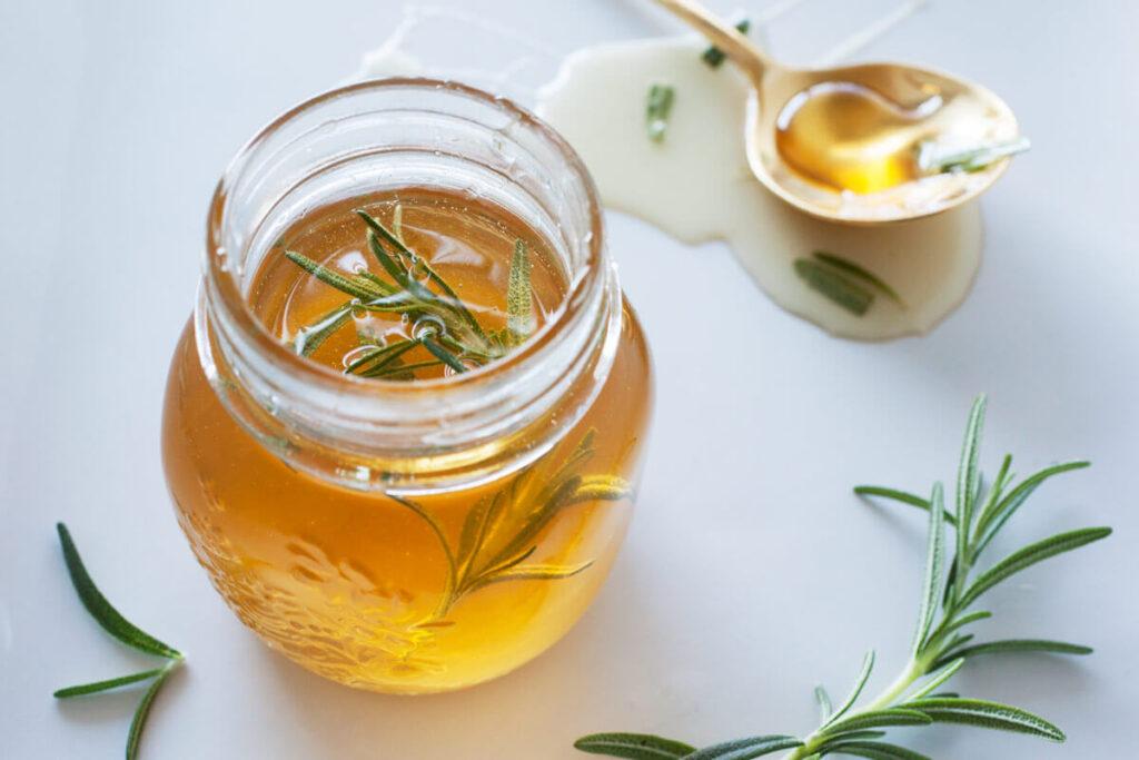 miel con romero